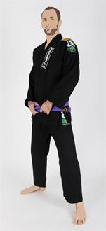 Manto Champ 2.0 Black Jiu Jitsu Gi